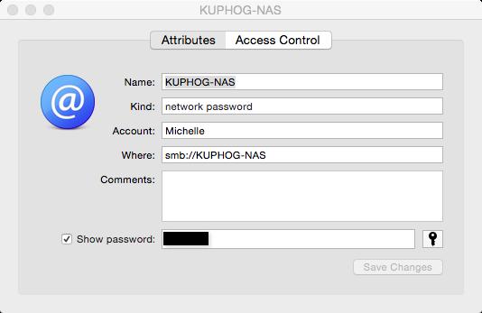 """KUPHOG NAS drive password"""